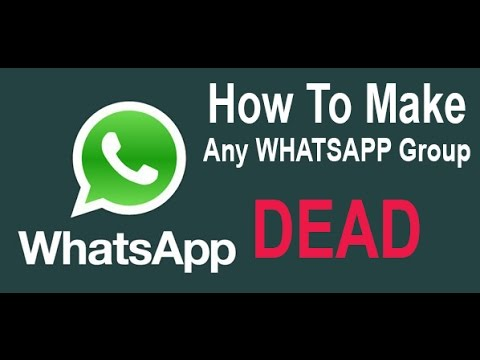 How To Destroy WhatsApp Group With Simple Message UPDATED 2015 !!!