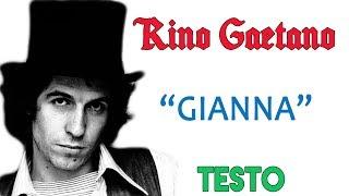 Rino Gaetano - GIANNA - Lyrics (TESTO HD)