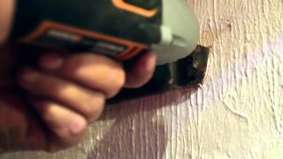 How To Use a SoniCrafter to Cut Shelf Supports Withouth Damaging the Wall