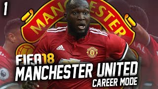 FIFA 18: Manchester United Career Mode #1 - WE'LL NEVER DIE
