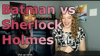 Batman vs Sherlock Holmes. Epic Rap Battles of History Season 2. (Reaction 🔥)