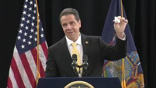 Governor Cuomo Signs Plastic Bag Ban Bill on Long Island