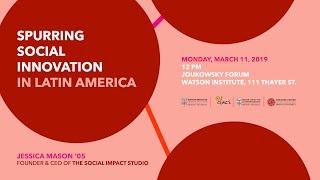 Spurring Social Innovation in Latin America