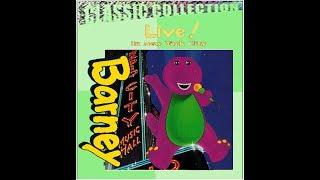 Barney Live! In New York City Custom Lyrick Studios 2000 VHS