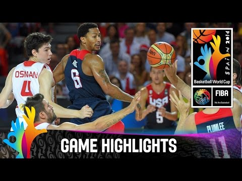 watch Turkey v USA - Game Highlights - Group C - 2014 FIBA Basketball World Cup