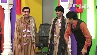 Zafri Khan and Sajan Abbas New Pakistani Stage Drama Full Comedy Clip