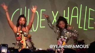 Chloe X Halle Live in Concert at SOBs in NYC 2018