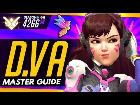 Overwatch   TOP 500 DVA - Master Guide (ft Level5Pidgey)