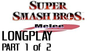 Super Smash Bros. Melee LONGPLAY [1080p 60fps] Part 1 of 2 - All Characters & Event Matches 1-39