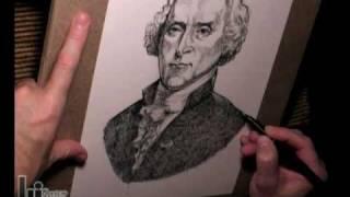 Portrait of Thomas Jefferson (heritage t-shirts series)