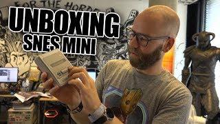 SNES Classic Edition (Mini SNES) binnen op de redactie - Uit de doos ermee!