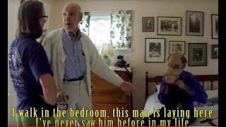 Home Invasion Prank - Disguised As Grandpa's Dead Uncle's Ghost