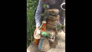 Amazing Engineering by 10yo Pakistani boy