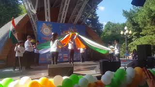 India day Moscow 13.08.17