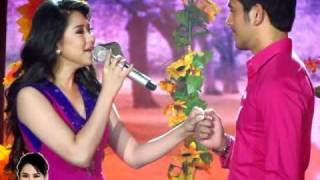 OFFCAM Catch Me I'm In Love Launch: Fallin' by Sarah Geronimo - with Gerald Anderson (20Mar11)