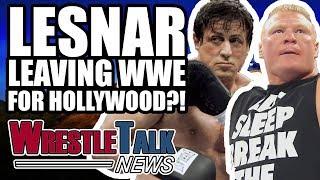 Brock Lesnar WWE Royal Rumble 2018 Match LEAKED! | WrestleTalk News Dec. 2017