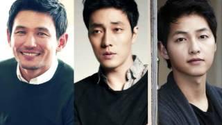 Song Joong Ki and So Ji Sub Battleship Island