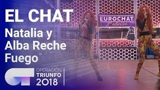 Fuego - Natalia y Alba Reche   El Chat   Programa 8   OT 2018