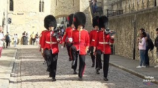 England the Tower of London Make Way for Queen