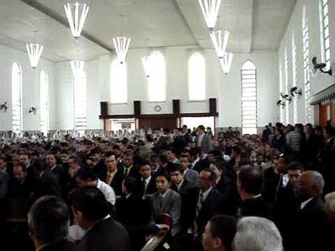 CCB HINO 164 SENHOR A TUA ESPOSA Comunhão Reunião da mocidade em Umuarama
