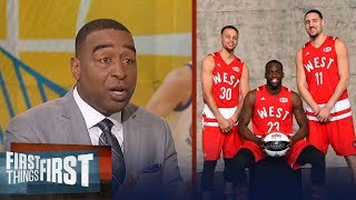 Cris Carter on how Curry, Draymond and Klay