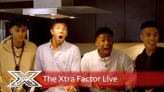 Four of Diamonds enter the Contestants' House! | The Xtra Factor Live 2016