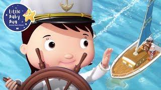 Little Boats | Baby Songs | +More Nursery Rhymes & Kids Songs | Little Baby Bum