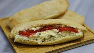 نوستالژی | طرز تهیه نان بلکی به یاد ساندویچهای قدیم مخصوصا ساندویچ الویه