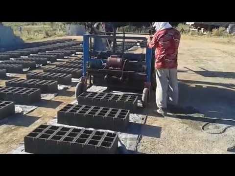 Máquina de fazer bloco de cimento poedeira