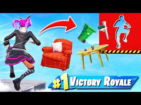 IMPOSSIBLE DEATHRUN Map in Fortnite Battle Royale