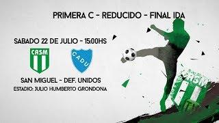 SAN MIGUEL TV - REDUCIDO - FINAL IDA - San Miguel vs Def. Unidos #LoVeoXSanMiguelTV