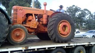 40K Chamberlain Tractor at Wunghnu Engine Rally