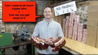 MAGRAV Copper Wire 1.6mm Keshe Foundation by Plasma-shop.com