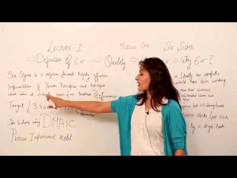 SIX SIGMA VIDEO LECTURE
