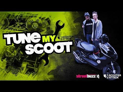 Scooter Attack presents TUNE MY SCOOT Es wird umgebaut