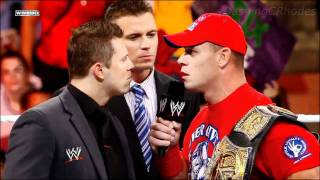 WWE Over The Limit 2011 John Cena vs The Miz