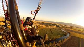 Paramotor Adventure Flight With Team BlackHawk - Powered Paragliding McArthur California