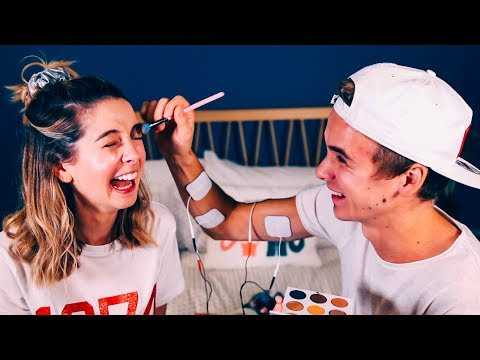 Xxx Mp4 Brother Does My Makeup Shock Edition Zoella 3gp Sex