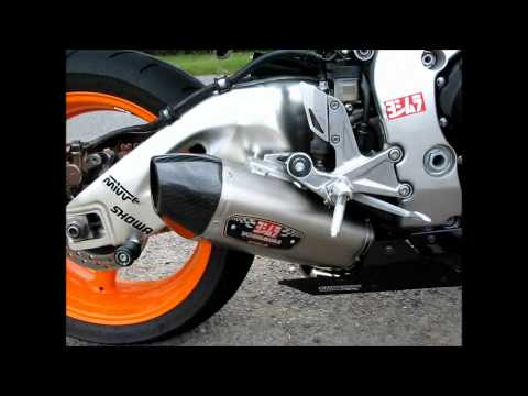 HONDA CBR1000RR WITH YOSHIMURA RS77 SLIP ON EXHAUST