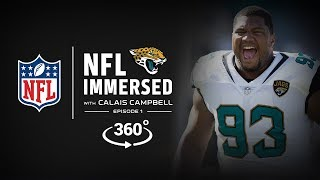 Welcome To Sacksonville 🐾   | Calais Campbell Ep. 1 | NFL Immersed | 360° Video