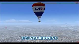 Life as a Hot Air Balloon Pilot on FSX Multiplayer (AFP Inspiration)