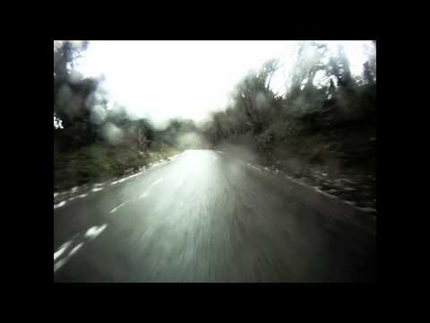 1953 F1 BRM V16:  Fabulous drive  in appalling conditions!  Follyfilms
