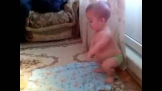 Funny video page::Baby prayer namaz