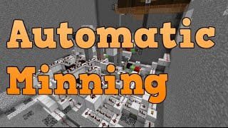 Minecraft 1.11 AUTOMATIC minning machine +[ World download] [Works in 16w40a]