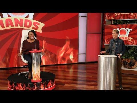 Xxx Mp4 Ellen Gives A Single Mom An Incredible Hot Hands Prize 3gp Sex
