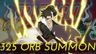 Bleach Brave Souls - 325 Orbs Summon For KENNY!