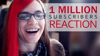 1 million subscribers! (live reaction)