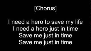 Skillet - Hero(lyrics)