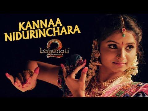 Kannaa Nidurinchara | Baahubali 2 || 4k || Varshini Arza | By Amarpixler