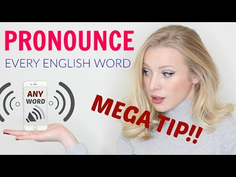 watch Amazing resource: Learn to pronounce ANY English word!